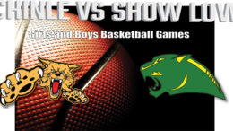 Watch the Chinle vs Show Low Girls and Boys Basketball games here: