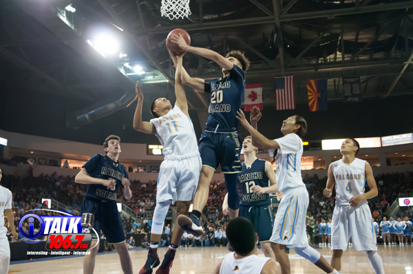 The Alchesay Falcons Play in Last Years 2018 State Basketball Tournament at the Prescott Valley Event Center